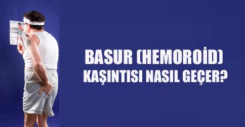 Hemoroid kaşıntısı